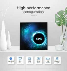 TV Box Android 10.0, T95 Android TV Boxes 4GB RAM 64GB ROM H616