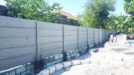 jual material pagar beton+ Pemasangan