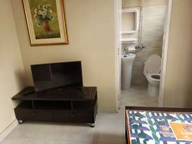 available full furnished Room AC Wi-Fi geyser include
