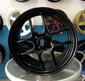 Velg Ring 15-7.0 h4-100 et35 bisa buat mobil Yaris splash ignis freed