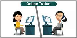 Online Tuition Teacher (All subject and All curriculum)