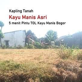 Dekat RS Darma Medika, Kapling Kayu Manis Asri Bogor Kota