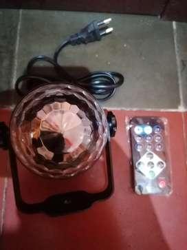Lampu disko mulus