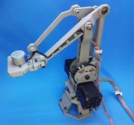 Robotic Arm -  Arduino Controlled - 4 Degree of Freedom - 3D Printed
