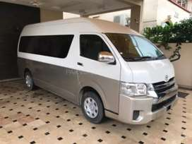 Hiace for rent GRAND CABIN