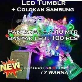 Lampu tumbler Rainbow 7 warna *Ready Rainbow dan Putih*