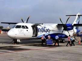 Hiring in indiGo Airlines urgently