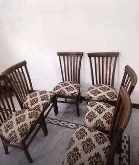Imported 6 seater dining table set only 24999