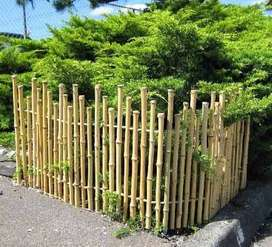 Bamboo wall panels bamboo cane available bamboo fence boundary