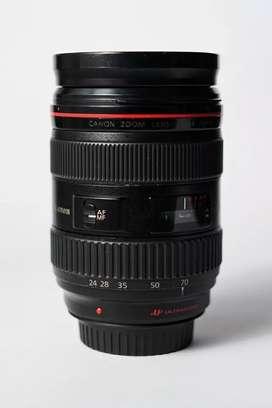 Lensa Canon 24 - 70mm f2.8L USM