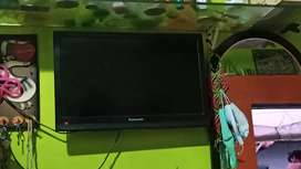 Panasonic led tv 21 inch with Videocon d2h