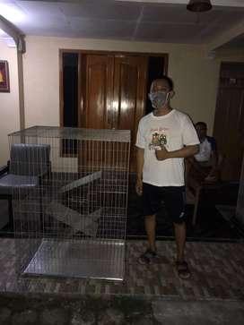 Baru gaes kandang Kucing Anti karat new