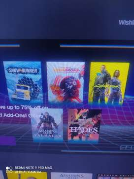 Pc games available