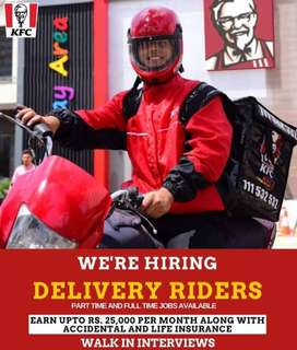 KFC DELIVERY RIDERS AND TEAM MEMBERS