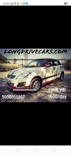 2000/day swift vdi sport self drive cars