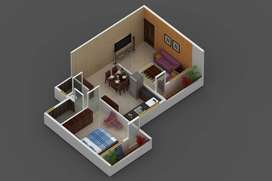 1BHK specious flat with heavy discount