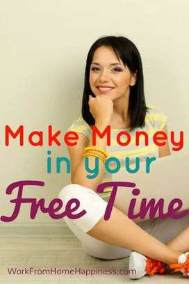 Work in your free time and earn upto Rs.15000 per month