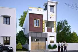 Semi independent villa for sale. C m d a  approved,