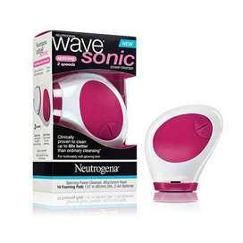 UK imported Neutrogena Wave Sonic Spinning Power Cleanser beauty parlo