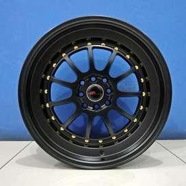 Velg Mobil HSR Wheel Ring 17 Model EDO H4X100/114,3 Semi Matte Black