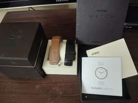 HUAWEI WATCH ONE ITS FULL BOX VERY LESS USE
