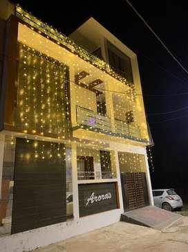 Ground floor available for rent in gurubaksh vihar east