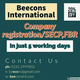 Registeration your company in SECP