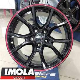 Velg Mobil Elegan ring 17 Expander Ertiga HSR MISATO R17x75 Pcd5x114,3