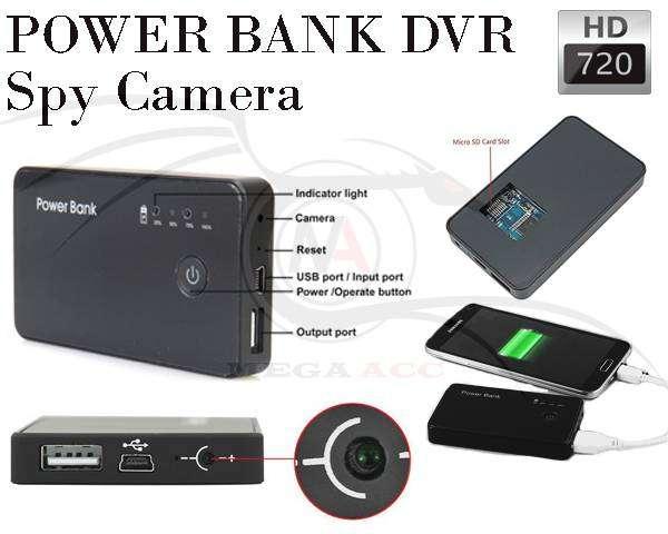 Powerbank Keamanan Camera dan Video Motion Detection 720p 0