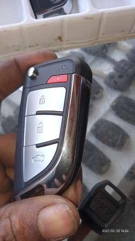 Flip car key available