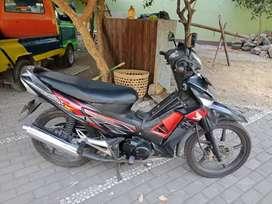 Honda Supra X 125 double cakram tahun 2010 plat AB Kota jogja