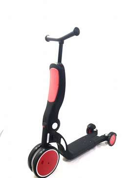 Freekids Skuter Anak 5 in 1 Multifunctional Wheeled Scooter Bike ID93
