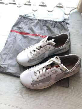 sneakers prada americas cup white authentic