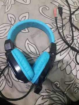 Headset Gaming NYK Biru