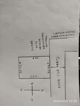 Urgent sale!! A plot for sale in good locality.