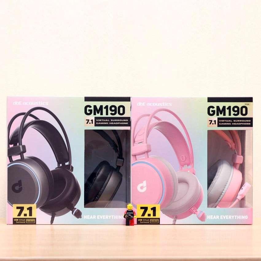 Dbe GM190 GM 190 7.1 virtual surround Gaming Headset
