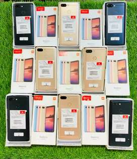 New - Red mi 6 - 3/32 &3/64 GB - seal open onlu - 11++ month warranty