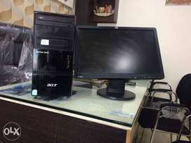 Lowest price Acer dual core amd 2gb ram 250 gb hdd dvd 19 inch led ful