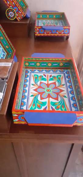 Truck art  boxes/trays