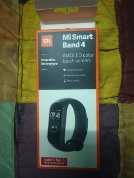 Mi band 4 smart band 1month old