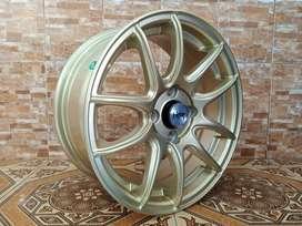 KOTA TEGAL KAMIKAZE 1087 FC HSR R15X65 H4x100 ET42 GOLD (2)