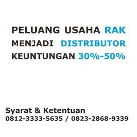 Dicari Distributor Produk Rak Toko Supermarket Bangka Belitung