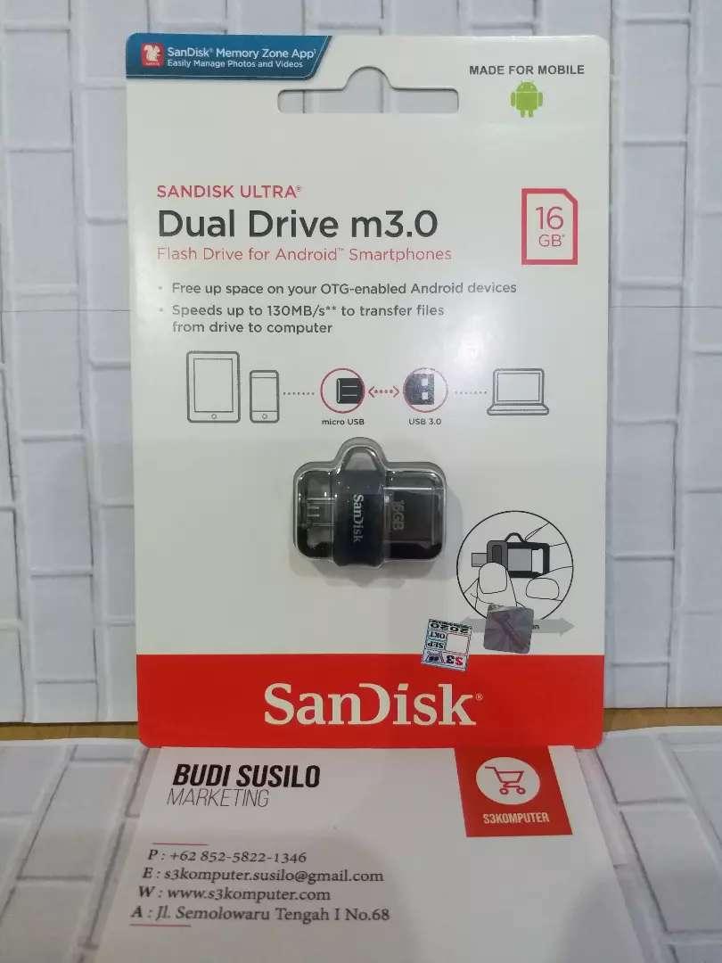Flashdisk Otg SANDISK 16gb Usb 3.0