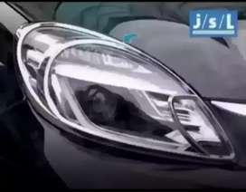 Garnish Lampu Mobil Brio Depan
