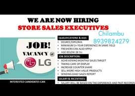 LG promoter vacancy @Chennai
