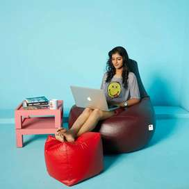 BEANBAG SOFA CHAIR ( WITH BEANS) - ZERO TOUCH DELIVERY- ACROSS WAYANAD