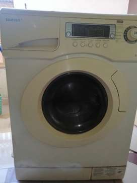 Samsung auto washing machine 8kg