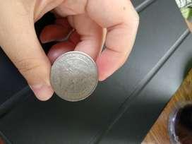 Koin Rp 100 perak tahun 1978