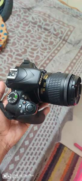 Nikon D3400 Camera with 55mm and 300mm VR Lens