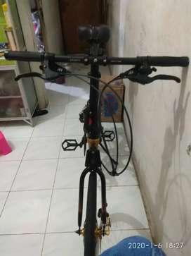Sepeda lipat ecosmo 7+ gold